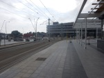 Blankenberge Station From The TramStop