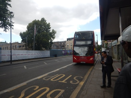 A Bus To Dalston Junction Station