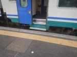 Stepping Up Into The Train ToNovara