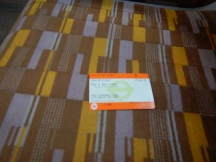 My Return Ticket Between Gatwick Airport And East Croydon