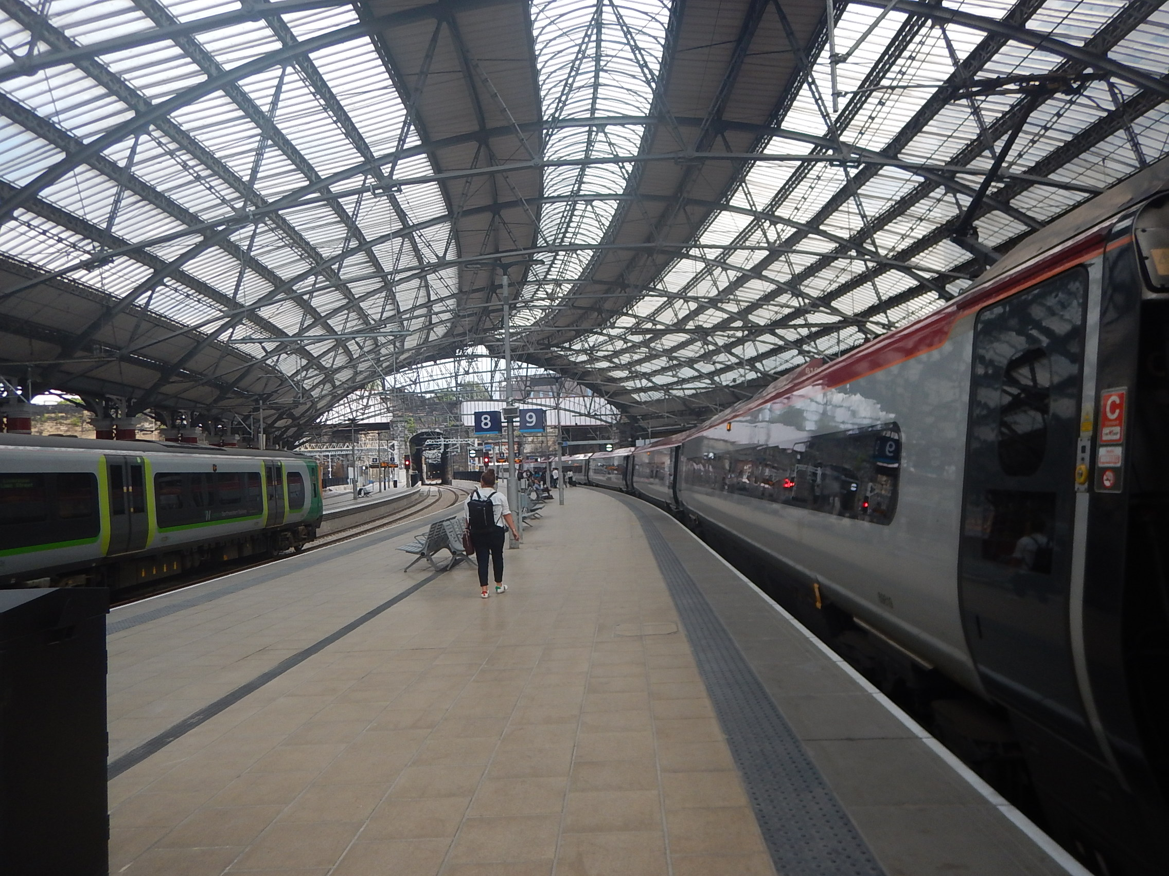 An Eleven Car Pendolino In Platform 9 At Liverpool Lime Street Station The Anonymous Widower