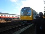 Battery Class 230 Train Demonstration At Bo'ness And KinneilRailway