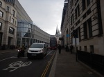 Looking Towards St. Paul's From Ludgate Circus – Note City ThameslinkStation