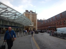 Kings Cross Station And The Great Northern Hotel