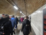 South Kensington – Exhibition Road PedestrianTunnel