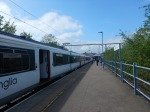 An Eight-Car Train At Hertford EastStation