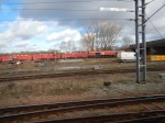 The Red Train In TheSidings
