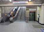 An Up Escalator, Stairs And An Inclined Lift At Greenford Station