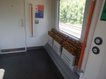 Class 710 Train – Wheelchair Area At TheEnd