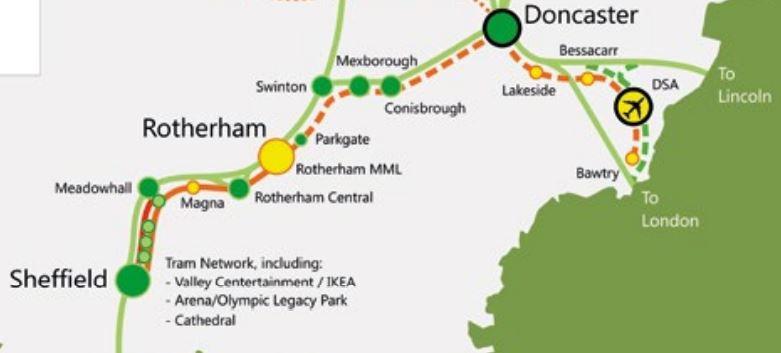 Sheffield Region Transport Plan 2019 – Tram-Trains Between ...