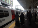 Boarding A Train At Tottenham Hale For MeridianWater
