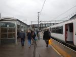 Arrival In Platform 11 At StratfordStation