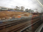 The New Track To The New Fifth Platform At Stevenage Station – 11th October2019