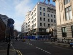 Walking From Cavendish Square To The Marylebone Lane Entrance Of Bond Street Station