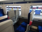 Coloured Tags On Seats In A HullTrain