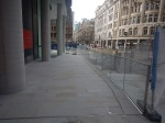 All Change At The Broadgate Entrance To Liverpool StreetStation
