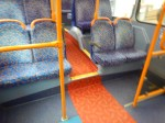 On The Lower Deck Of A HybridBus