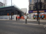 The Western Entrance At Tottenham Court Road Station – 19th February2021