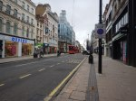 Walking Between Oxford Circus And Tottenham Court Road Stations – 19th February 2021