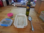 2. Ingredients – Fish, Peas, Runner Beans And Lemon OliveOil