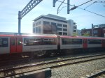 Arriving At Cardiff Central Alongside A Class 769Train